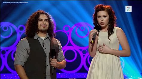 Chris Medina sings duet with a 16th years old Norwegian