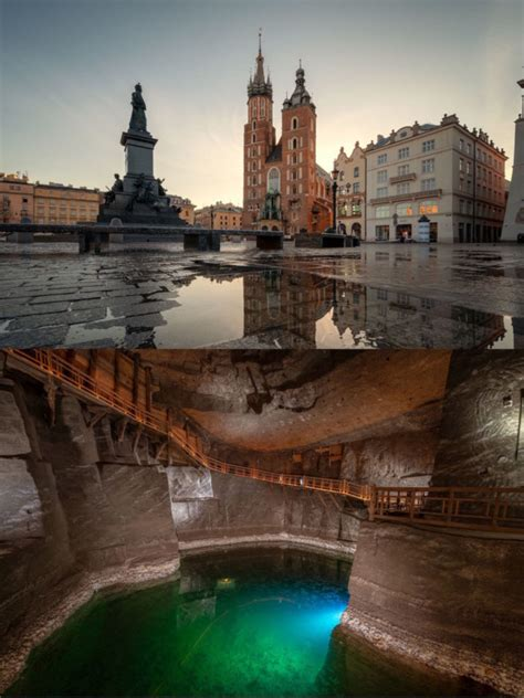 These Photos Reveal What Lie Beneath Europe's Top Tourist Attractions