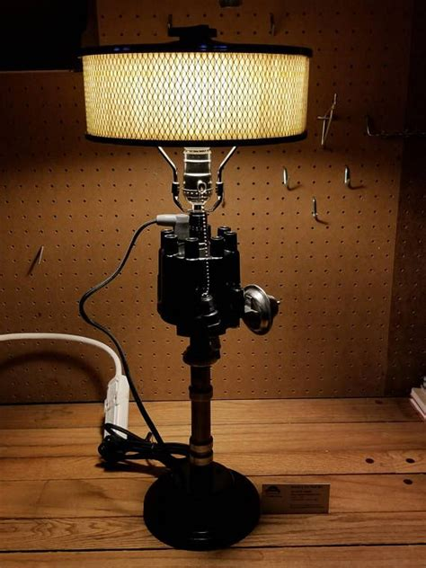 Distributor Air Cleaner Lamp - Gear head and man cave lamp