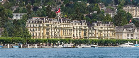 Grand Hotel National Luzern - OFFICIAL SITE - 5 Sterne