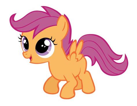My Little Pony Scootaloo Character Name - My Little Pony