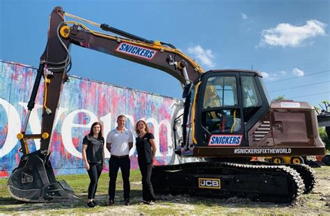JCB, Extreme Sandbox Partner With Snickers to 'Fix The