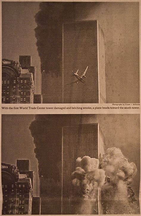 Historic Newspaper - 9/11 - The attack on The Twin Towers