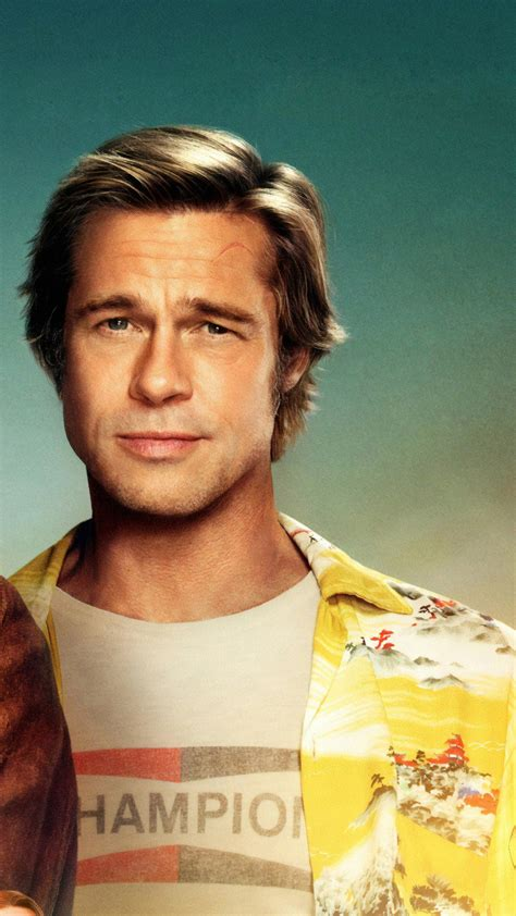 Wallpaper Once Upon A Time In Hollywood, Brad Pitt