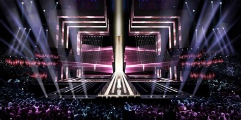 Here is the stage for Eurovision 2016