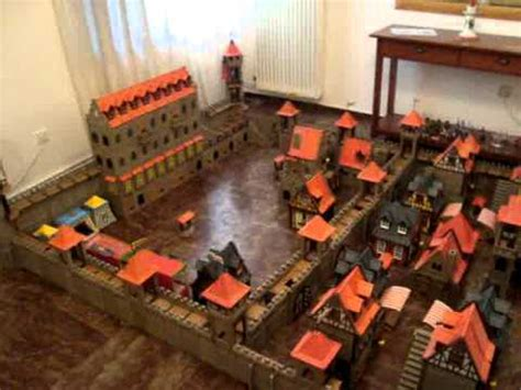 Playmobil Steck Medieval Castle City 3666 Ritterburg - YouTube