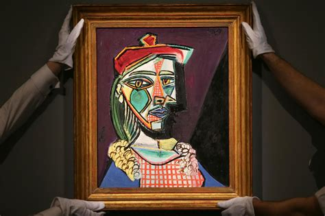 Pablo Picasso portrait sells for record-breaking £49