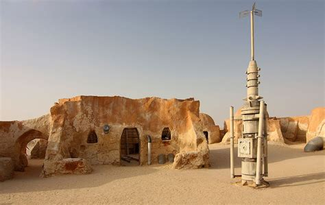 Tunisia is a place of multiple Star Wars filming locations