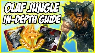 GUIDE ON HOW TO PLAY OLAF JUNGLE IN SEASON 10 - THE EARLY
