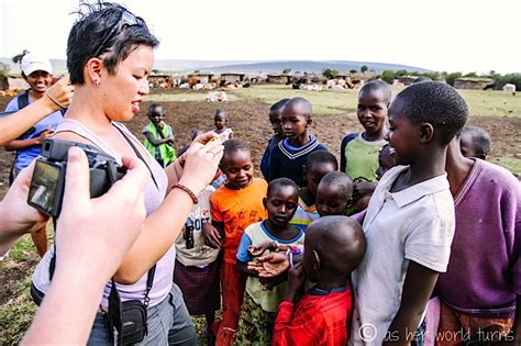 Visiting a Traditional Masai Village   As Her World Turns