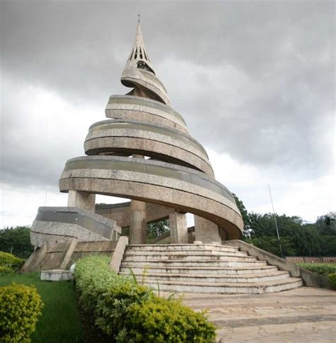 Reunification Monument (Yaounde, Cameroon) | Architecture