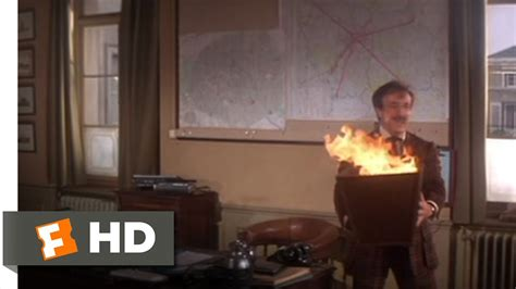 Trail of the Pink Panther (3/11) Movie CLIP - Office Fire