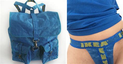 People Are Now Making Clothes Out Of 99-Cent IKEA Bags