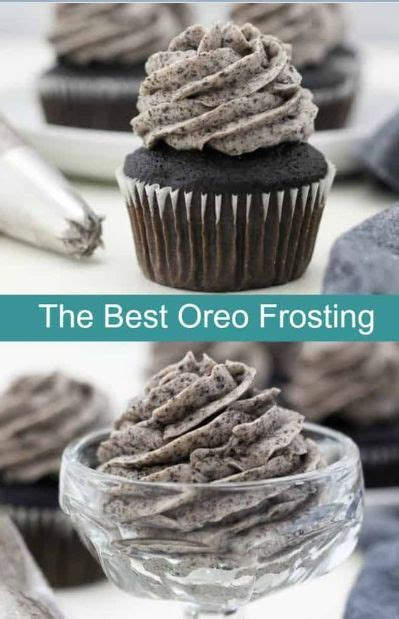 The BEST Oreo Frosting - My Best Cooking