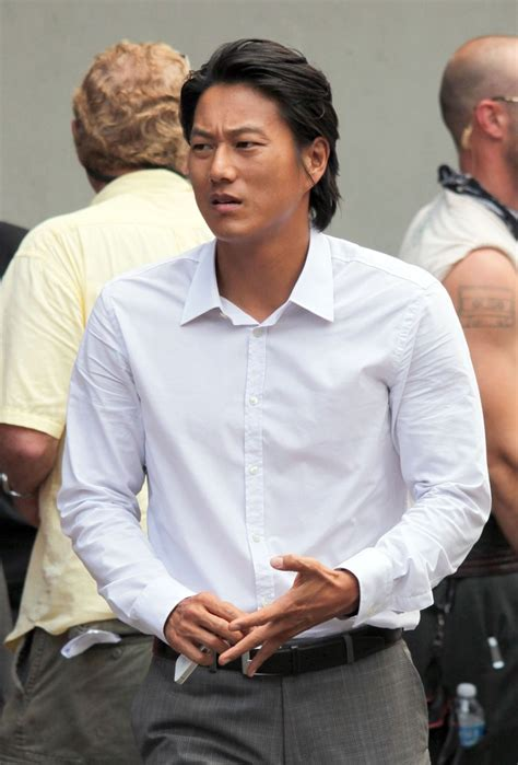 """Sung Kang in Sung Kang On Set Of """"Bullet In The Head"""" - Zimbio"""