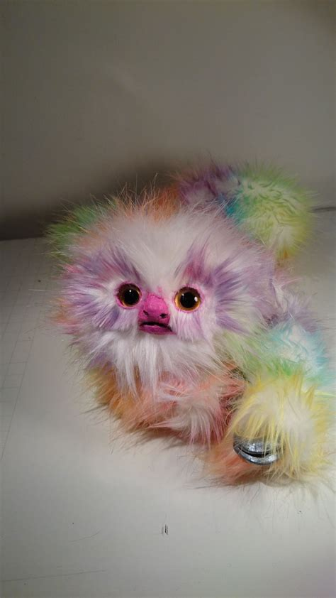 I Create Fantasy Rainbow Sloths That Are So Cute You Might