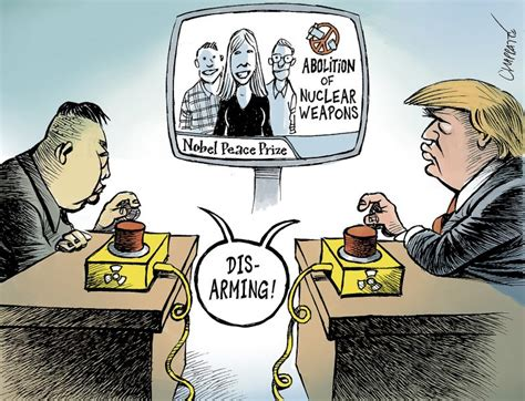 North Korea: war or peace? Archives | Chappatte