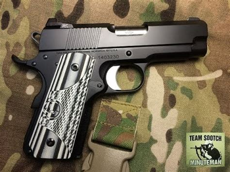 Dan Wesson ECO 1911 Pistol Review - YouTube