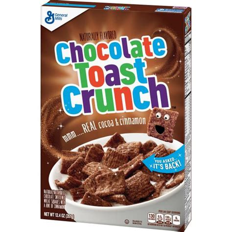 Kjøp Chocolate Toast Crunch 351g hos Coopers Candy