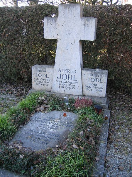 Alfred Jodl Grave | The Fifth Field