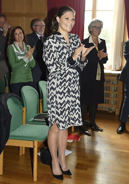 Princess Victoria and King Carl Gustaf attends WWF autumn