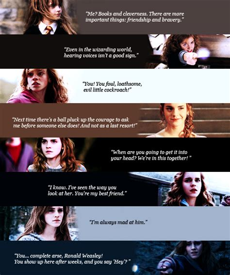 Ron And Hermione Quotes