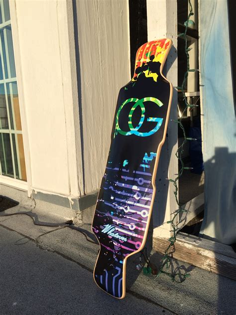 Design Your Own Longboard - With YOUR OWN Custom Longboard
