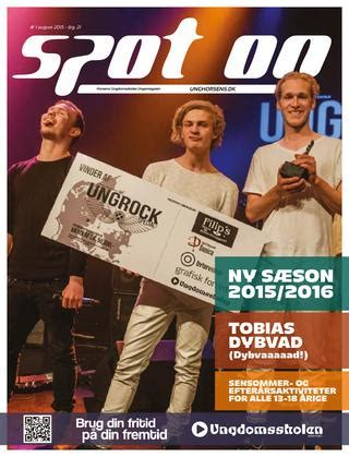 Spot On - August 2015 by Horsens Ungdomsskole - Issuu