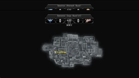 All Call of Duty: Black Ops 2 Map Layouts - Domination