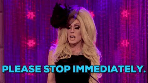 Please Stop Tv Show GIF by RuPaul's Drag Race S5 - Find