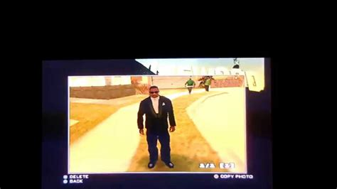 Grand Theft Auto San Andreas - How To Get Your Picture