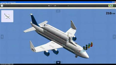 How to build a Lego Airbus A380 - YouTube