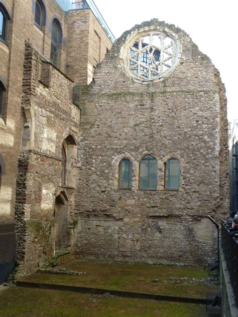 The Ruins of London - Winchester Palace - Footprints of London