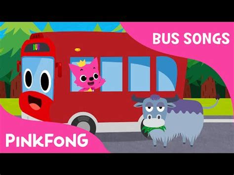 Five Little Buses Jumping on the Road | Bus Songs | Car