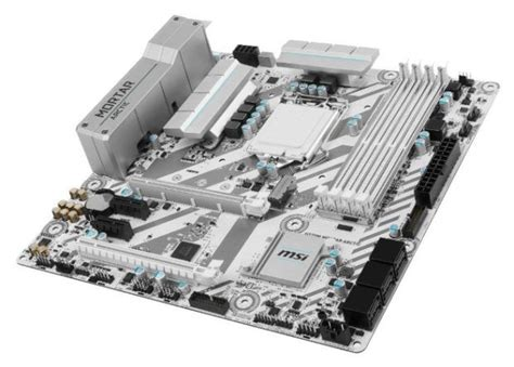 MSI H270M Mortar Arctic Edition Motherboard, Snow White Theme